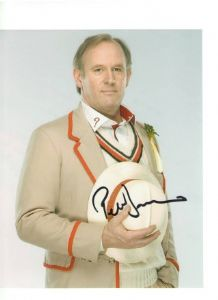 Peter Davison starring in Doctor Who